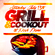 Cookout Flyer PSD - GraphicRiver Item for Sale
