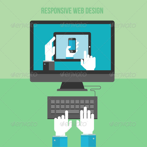 GraphicRiver Concept for Responsive Web Design 7729808