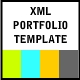XML Portfolio Template(fully customizable) - ActiveDen Item for Sale