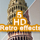 5 HD Retro Effects - GraphicRiver Item for Sale