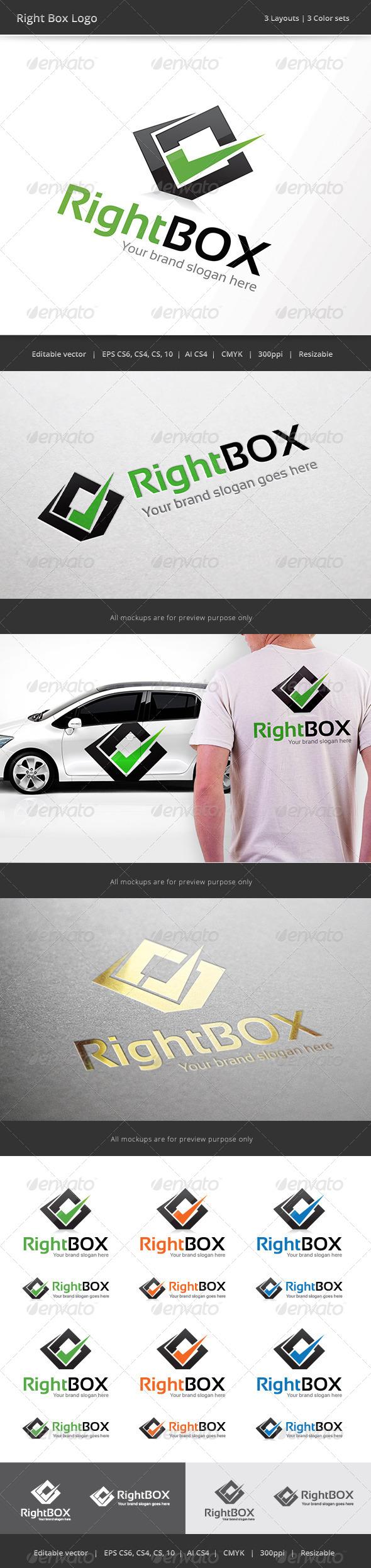 GraphicRiver Right Box Logo 7730235