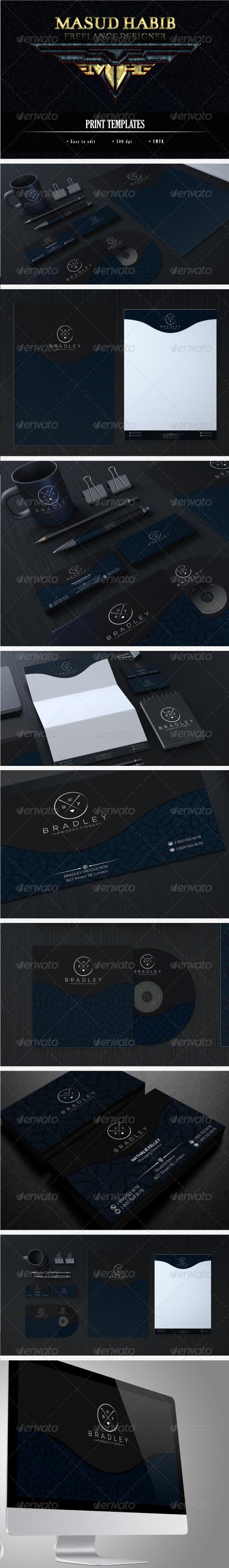 GraphicRiver Creative Corporate Identity 20 7696847