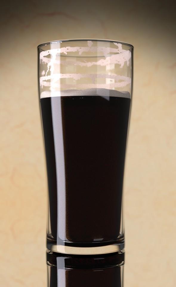 Glas of Beer - 3DOcean Item for Sale
