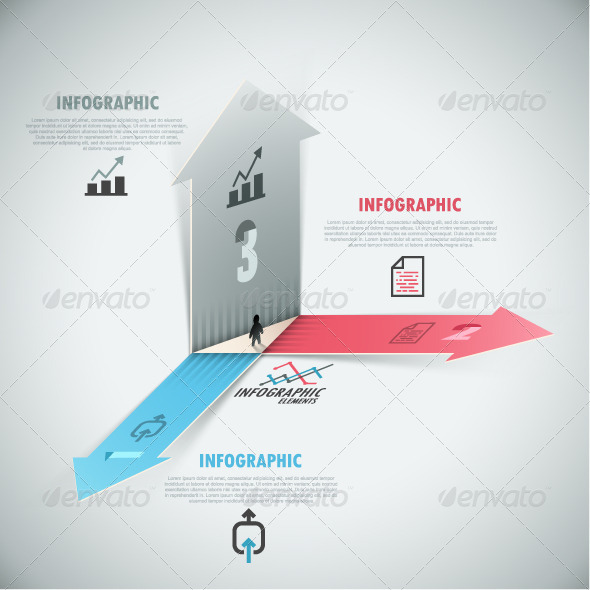GraphicRiver 3D Modern Infographic Options Banner 7731557