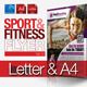 Fitness Flyer Vol.12 - GraphicRiver Item for Sale
