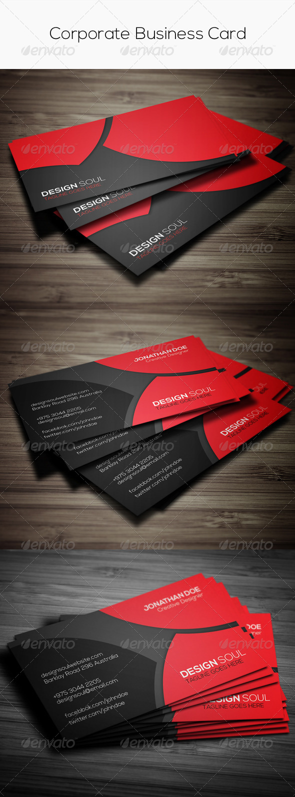 GraphicRiver Corporate Business Card 7731862
