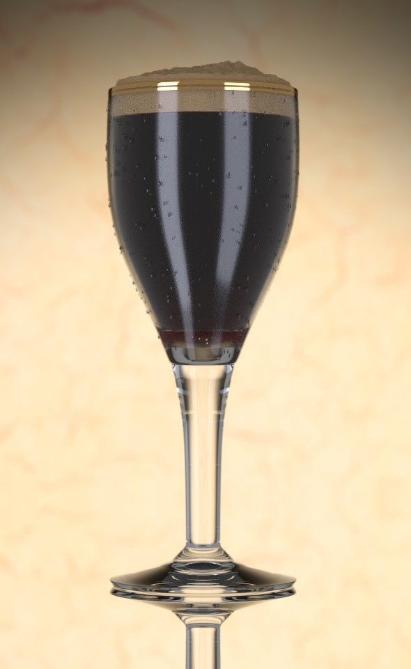 Dark Beer - 3DOcean Item for Sale