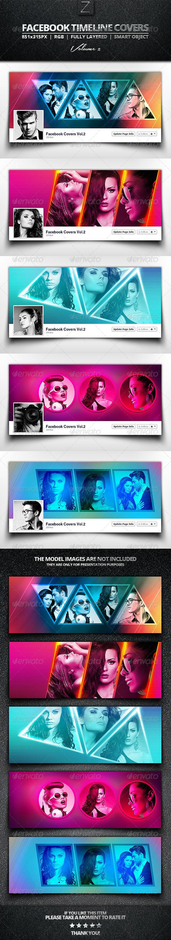 GraphicRiver Facebook Cover Templates Vol.2 7733067
