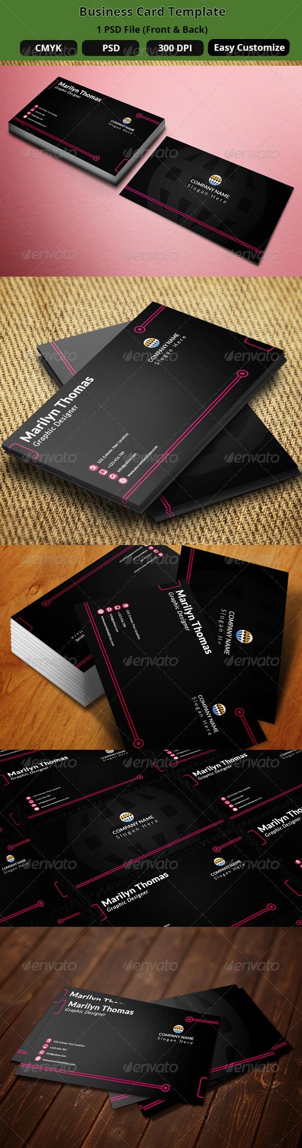 GraphicRiver Business Card Design 101 7733139