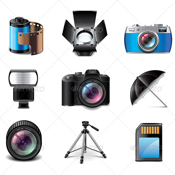 GraphicRiver Photography Equipment 7733658