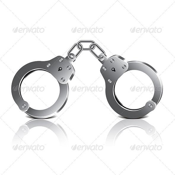 GraphicRiver Handcuffs 7733903