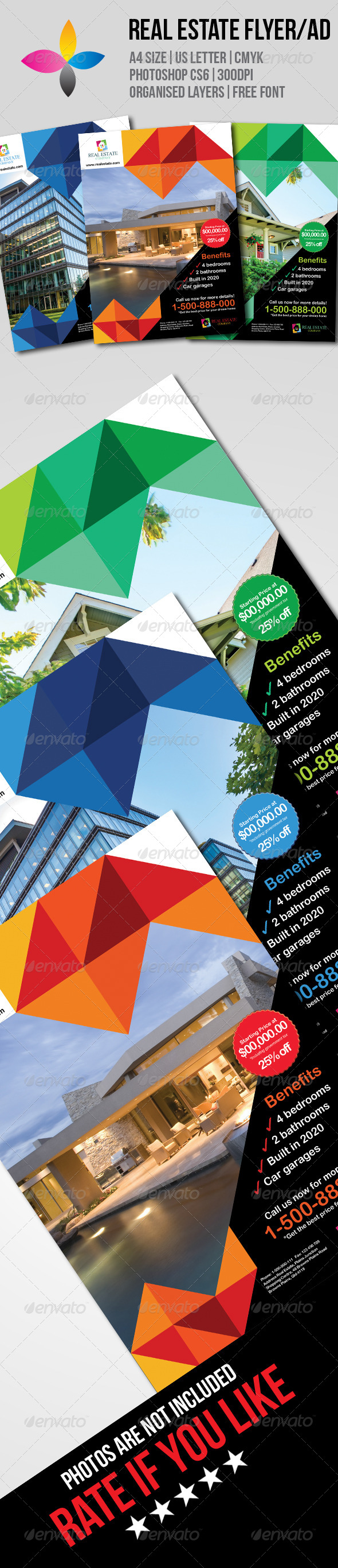 GraphicRiver Real Estate Flyer AD 7733968