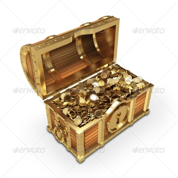 GraphicRiver Treasure Chest 7733991