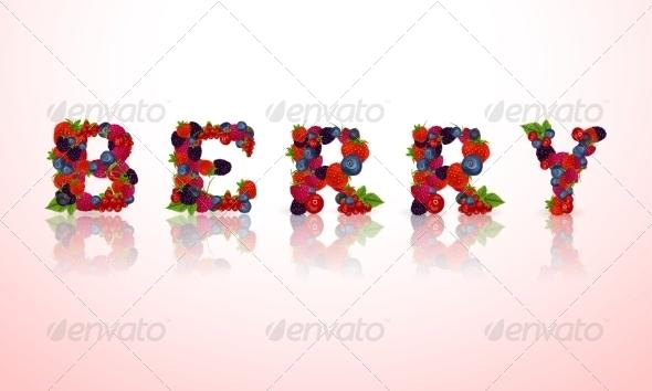 GraphicRiver Berry Word Emblem 7734157