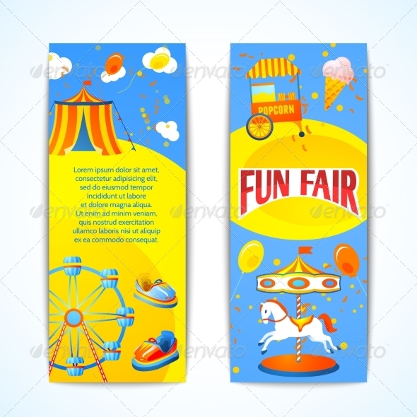 GraphicRiver Carnival Banners Vertical 7734229