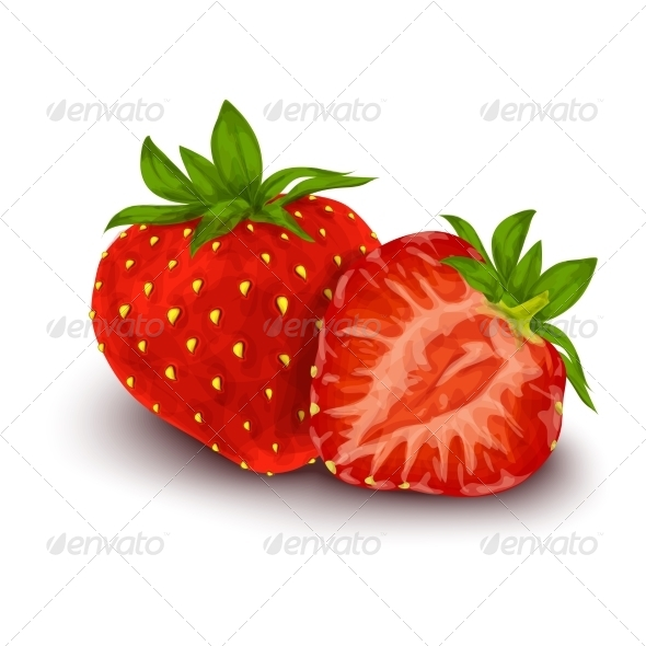 GraphicRiver Strawberry Isolated Poster 7734248