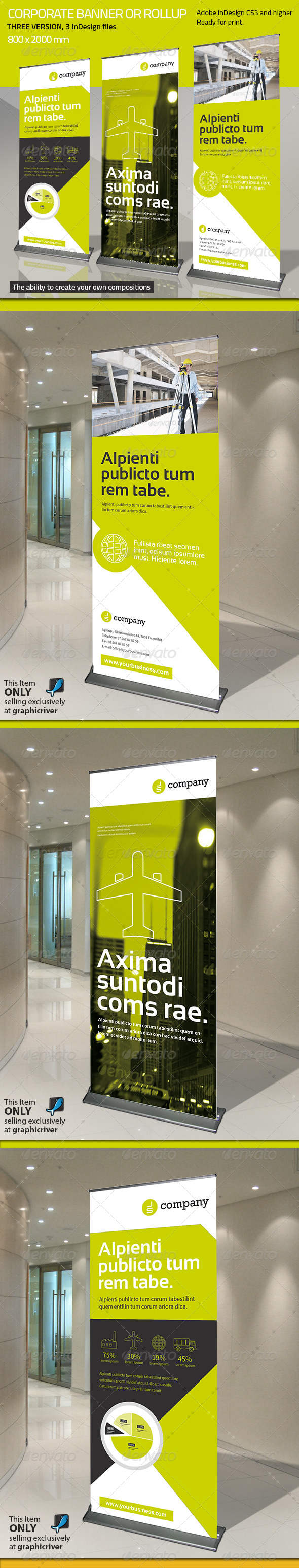 GraphicRiver Corporate Banner or Rollup Vol 6 7735014