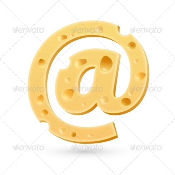 GraphicRiver Cheese E-Mail Mark 7735190