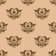 Beige and Brown Seamless Pattern - GraphicRiver Item for Sale
