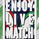 Enjoy Live Match Flyer  - GraphicRiver Item for Sale