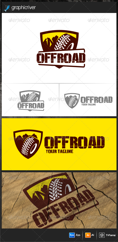 GraphicRiver Off Road Logo Templates 7688401