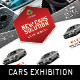 Cars Exhibition Flyer