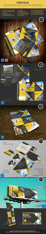GraphicRiver Portolio Business Solution Bundle 7736641