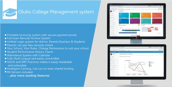 CodeCanyon Oluko College Management System 7655463