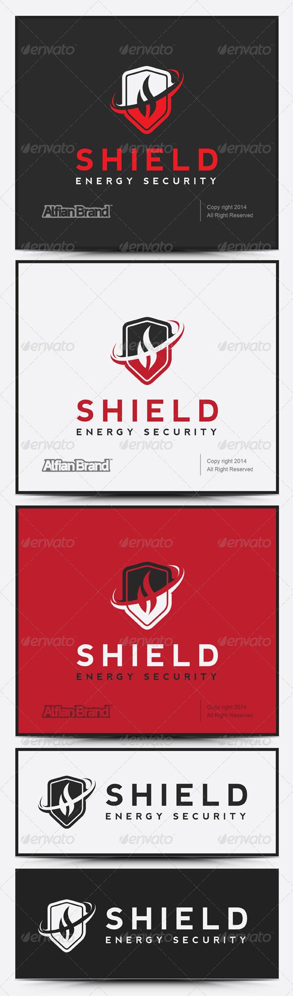 GraphicRiver Shield Energy Logo 7684730