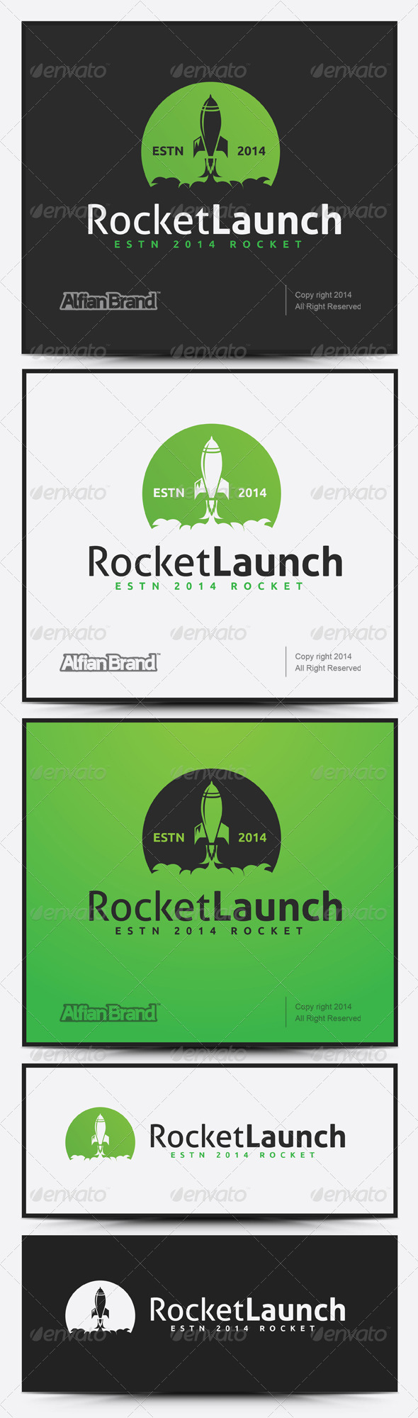 GraphicRiver Rocket Logo 7737614