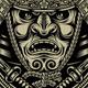 Samurai Warrior With Katana Sword - GraphicRiver Item for Sale