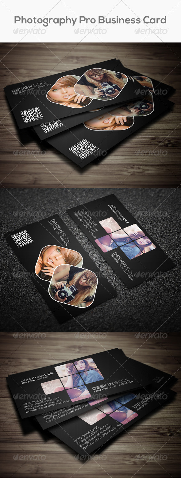 GraphicRiver Photography Pro Business Card 7737875