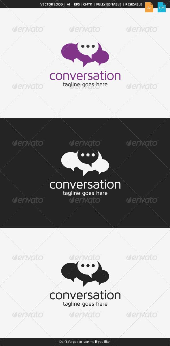 GraphicRiver Conversation Logo 7738097