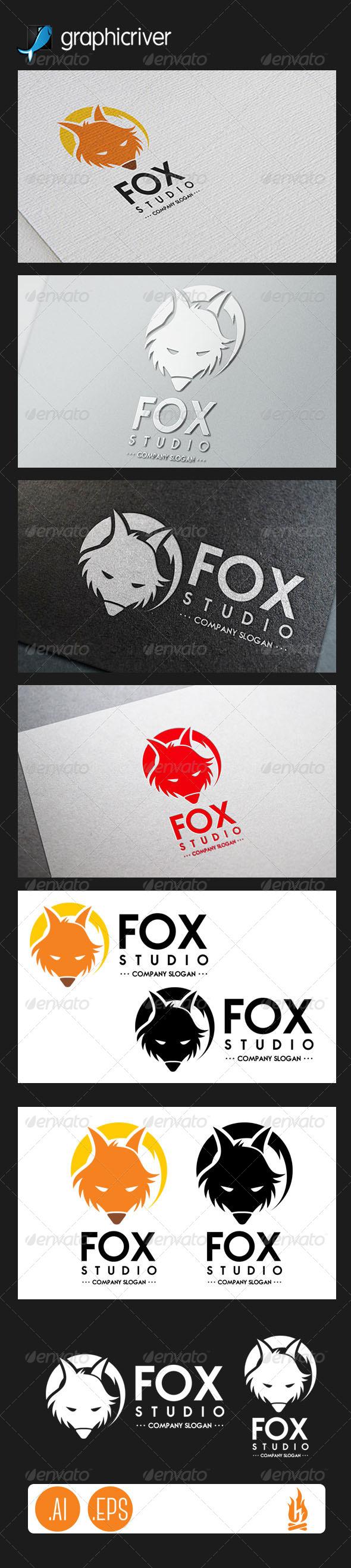 GraphicRiver Fox Logo 7738401