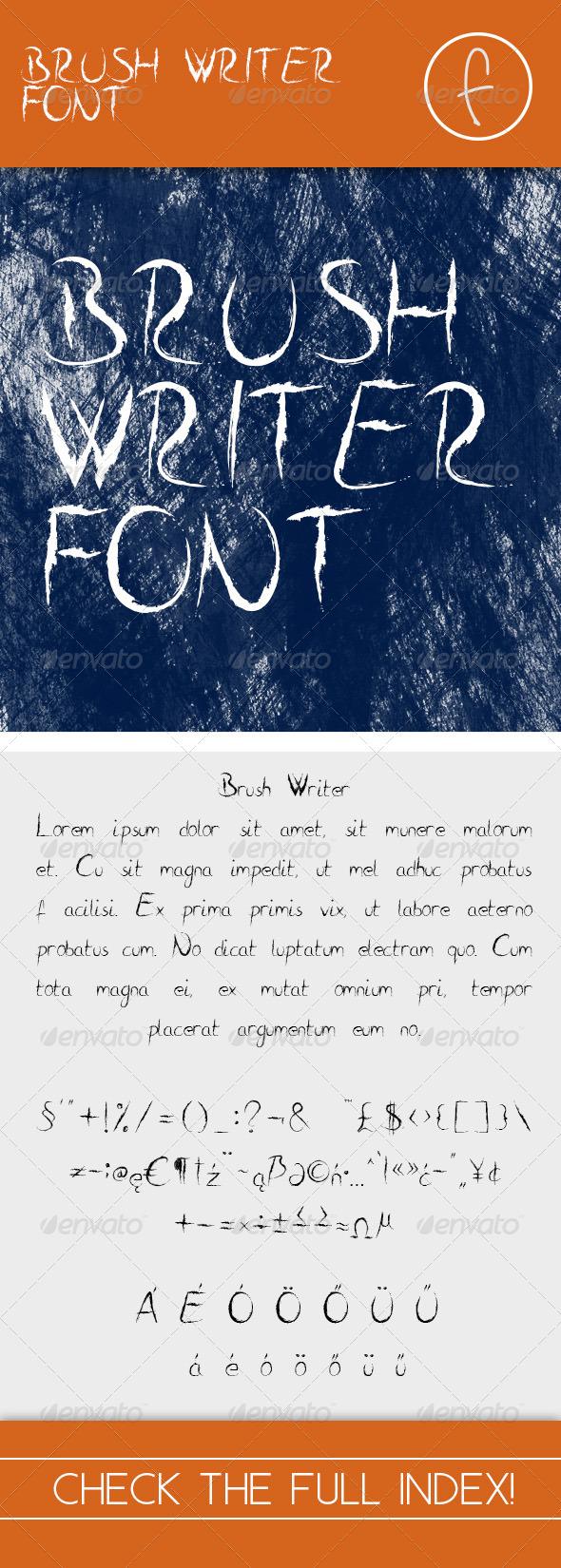 GraphicRiver Brush Writer 7739169