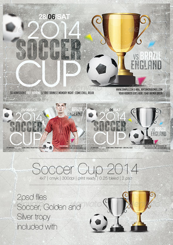 GraphicRiver Soccer Cup 2014 Vol 2 7739174