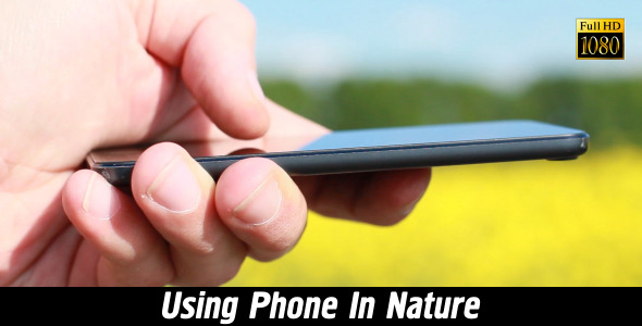 Using Phone In Nature