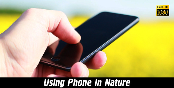 Using Phone In Nature 3