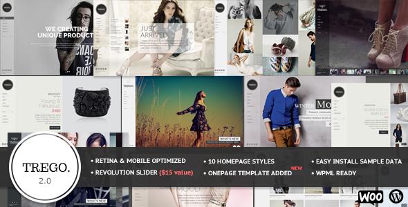Trego - Fullscreen Multi-Purpose WordPress Theme - WooCommerce eCommerce