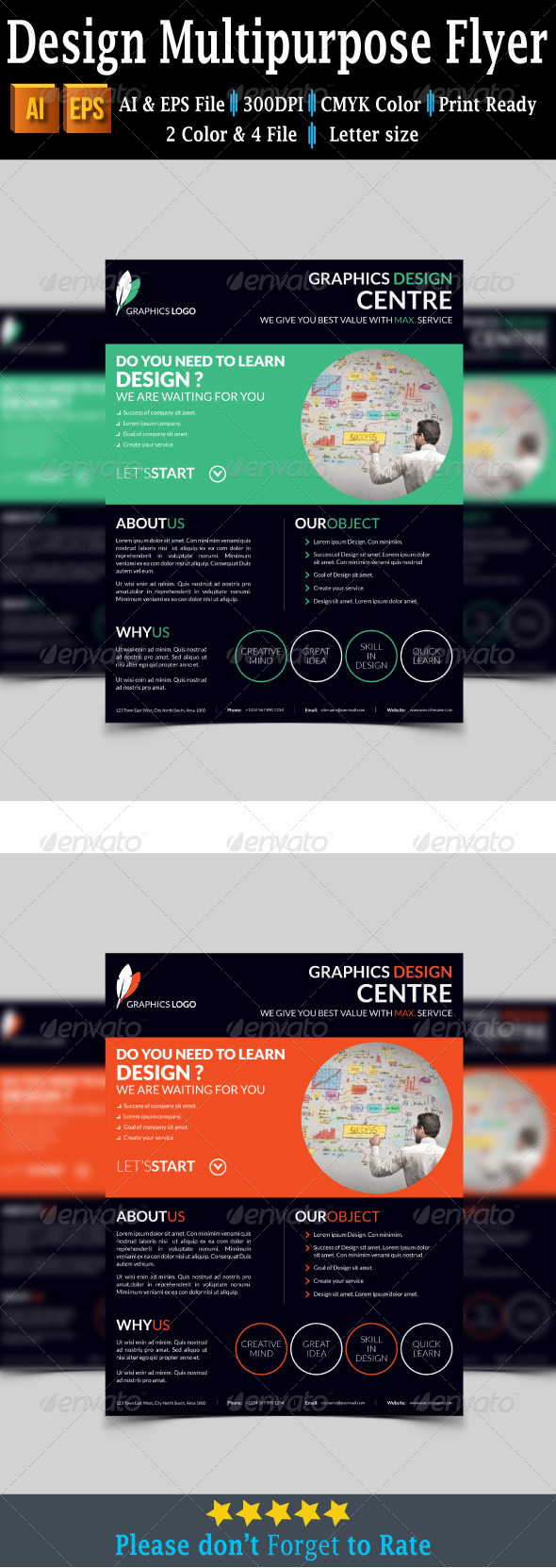 GraphicRiver Design Multipurpose Flyer 7739921
