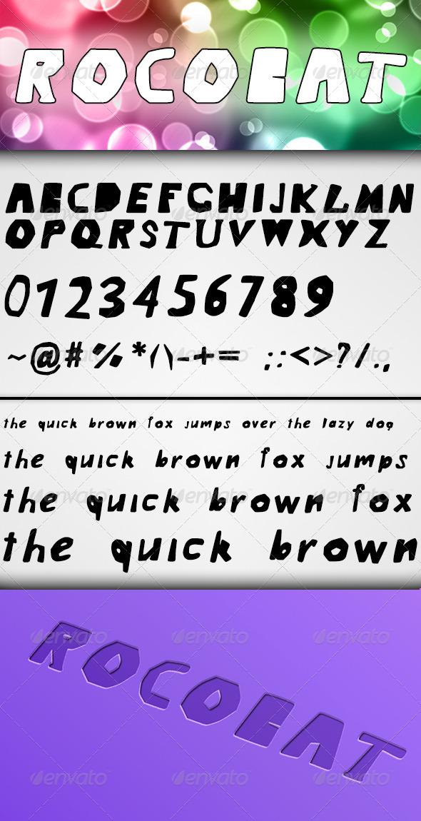 GraphicRiver Rocobat Font 7739938
