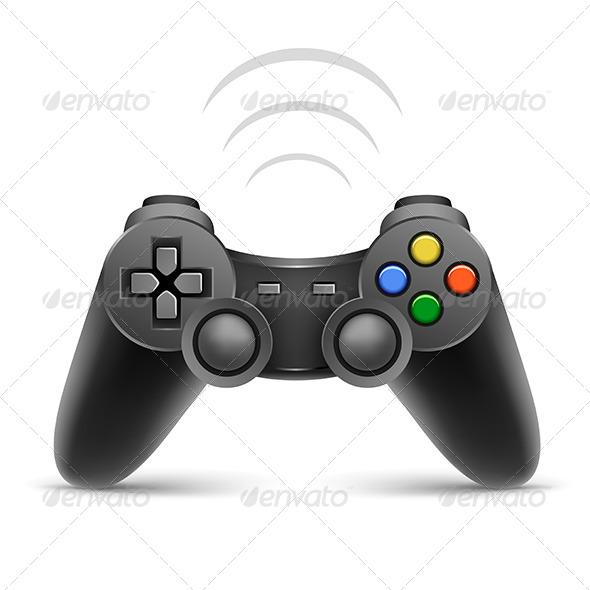 GraphicRiver Gamepad 7739970