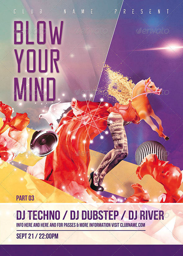 GraphicRiver Blow Your Mind Flyer Poster 03 7740181