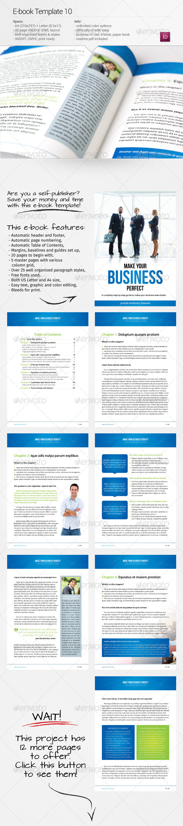 GraphicRiver E-book Template 10 7740644