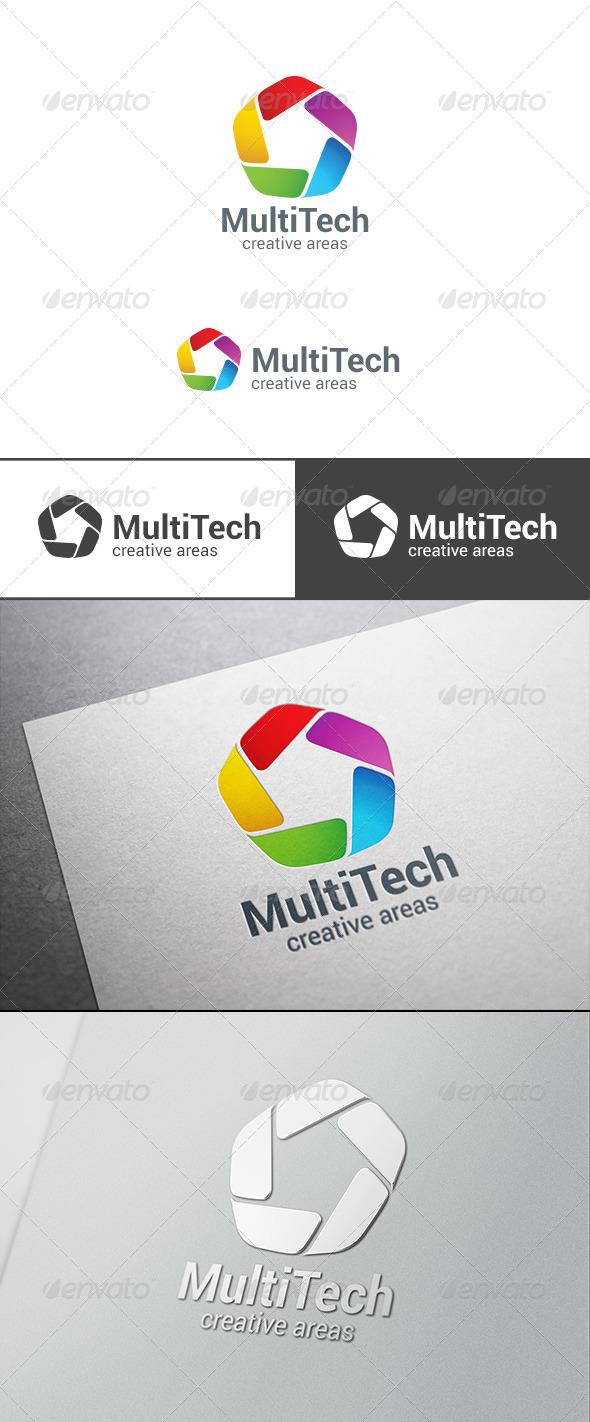 Corporate Business Technology Logo Infinity