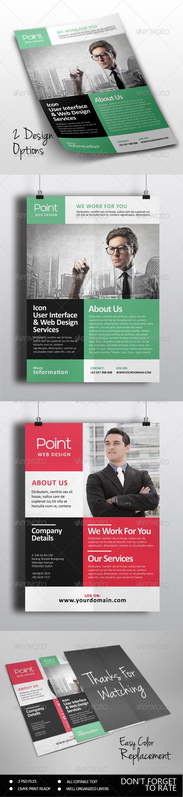 GraphicRiver Multipurpose Business Flyer Vol 3 7741619