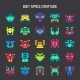 8-Bit Space Monsters - GraphicRiver Item for Sale