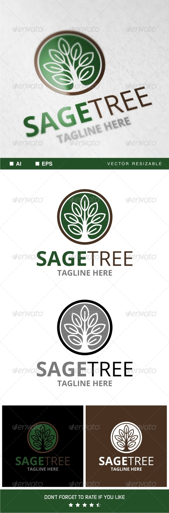 GraphicRiver Sagetree Logo 7742018