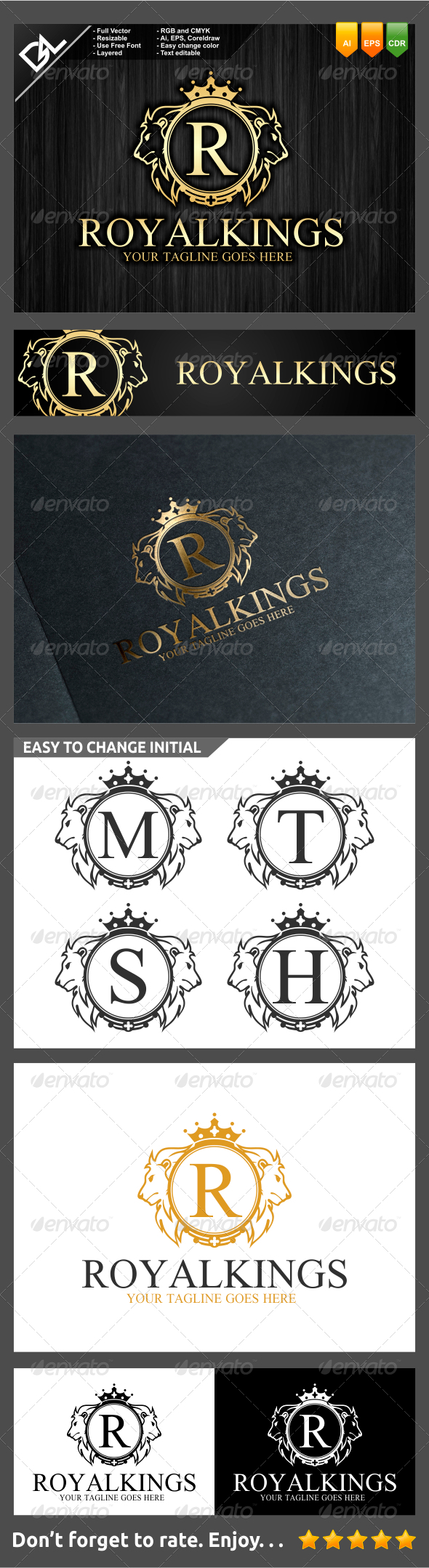 GraphicRiver Royal Kings 7742041