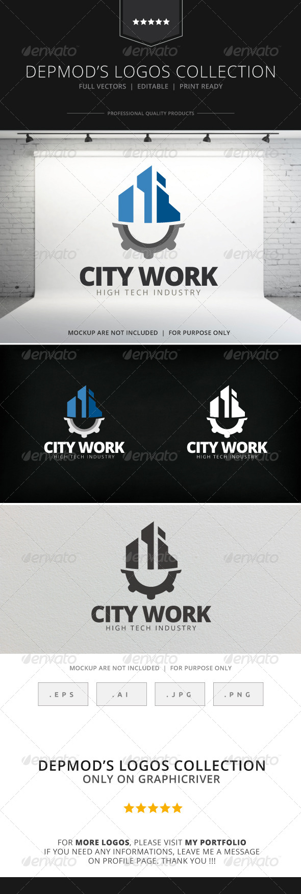 GraphicRiver City Work Logo 7742189